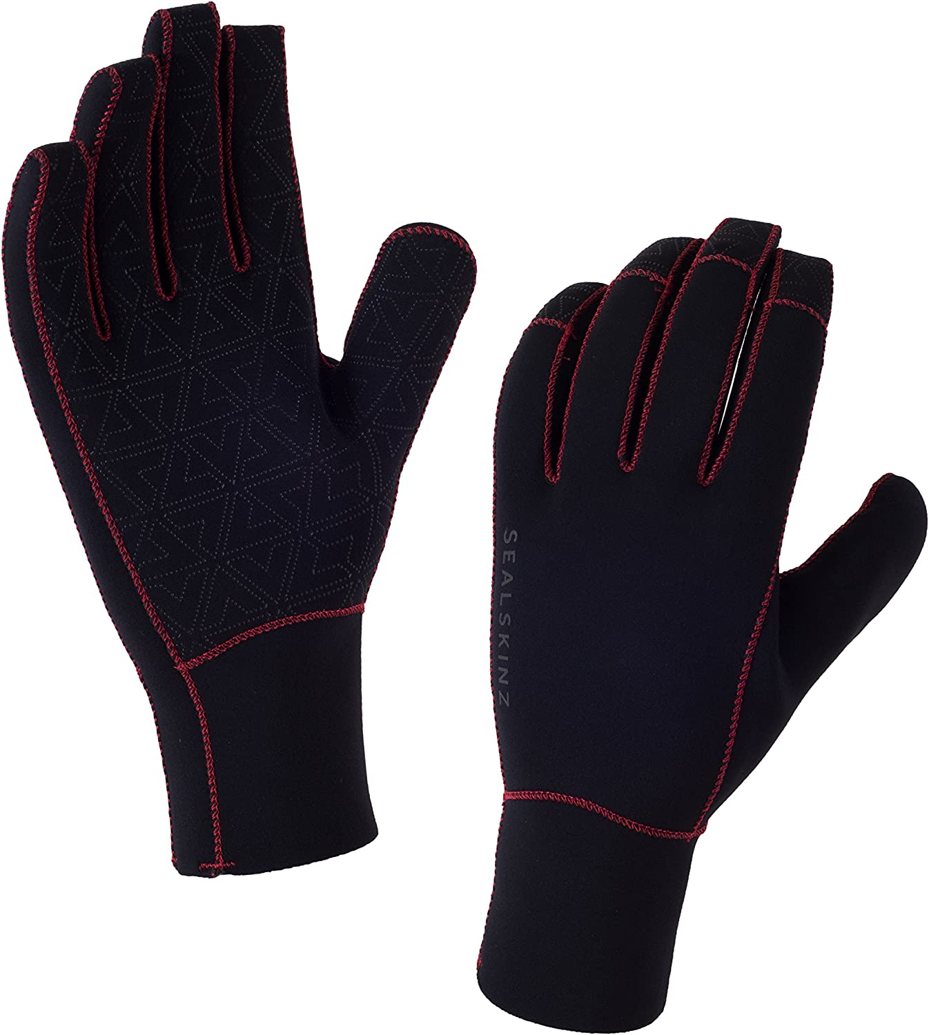 Sealskinz All Weather Waterproof and Breathable Cycle Glove Black//Navy