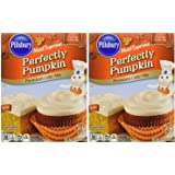 Pillsbury Moist Supreme Perfectly Pumpkin Cake Mix, 15.25 Oz. (2-pack)