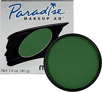 Mehron Makeup Paradise Makeup AQ Face & Body Paint (1 4 oz) (Dark Green)