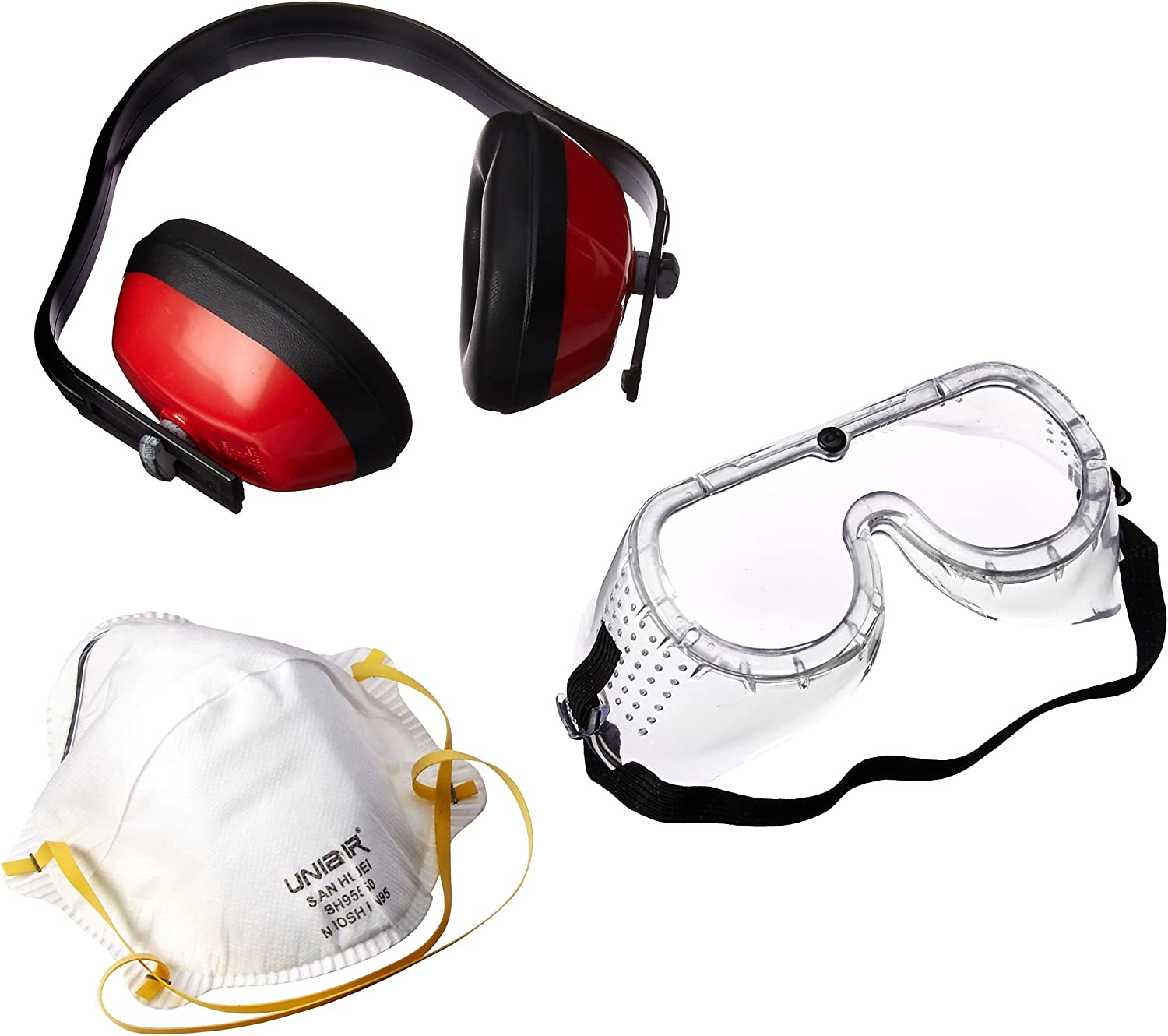 ArcOne 3N1P Respiratory  Goggles and Ear Protection Package 3N1PAON