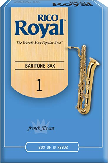 10-pack Baritone Saxophone Reeds Strength 2.5