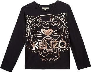 e33bd35c4f3792 Kenzo Kids Womens Copper Tiger T-Shirt (Toddler/Little Kids)