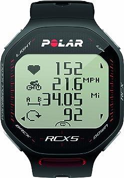 Polar RCX5 Pulsómetro, Unisex, Negro, Talla Única: Amazon.es: Deportes y aire libre