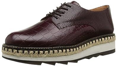 Camelia aubergine Violet Chaussures Castañer Leather Exotic Femme wPan7qz