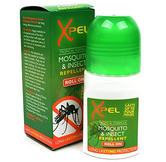 Xpel - Repelente mosquito insectos roll on