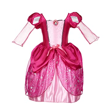 Amazon.com: Disney Princess Ariel Pink Bling Ball Dress: Toys &amp Games