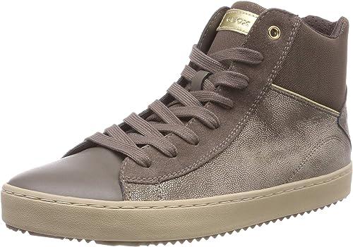 Sneaker Geox Mädchen J Kalispera Girl C Hohe Sneaker