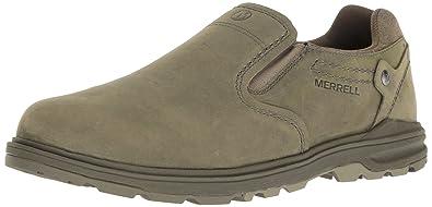Merrell Men's Brevard Moccasin Fashion Sneakers Brindle