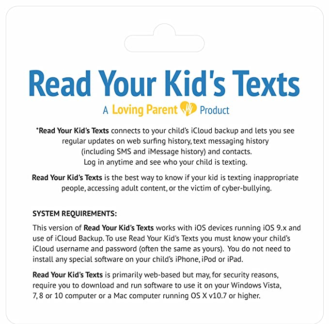 Read Your Kid's Texts - Remotely Monitor iPhone Text Messages, SMS,  iMessages, Web History & More  The Best iPhone Parental Controls  Don't Be  a Cell