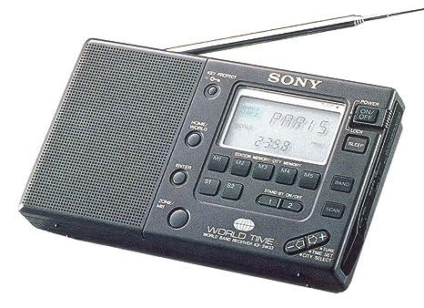 Sony de SW 33 – Una Reloj, con receptor Mundial