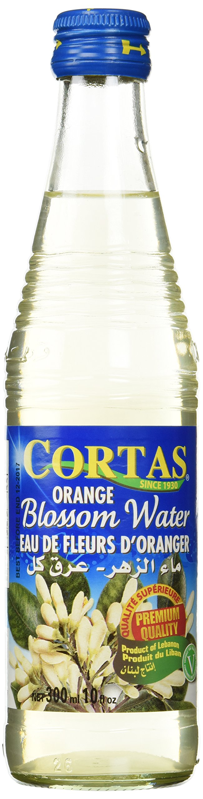Orange Blossom Water (Cortas) 10fl oz