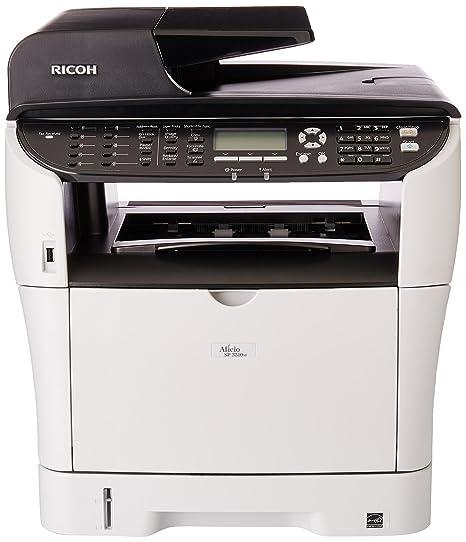 Ricoh Aficio SP 3510SF - Impresora multifunción (Laser, Mono, Mono ...