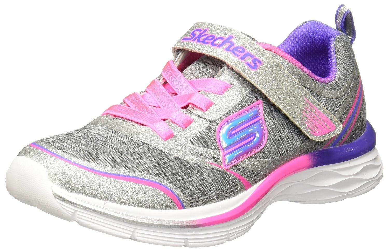 N' Dash Glitter Print Sneaker Gry/Pink