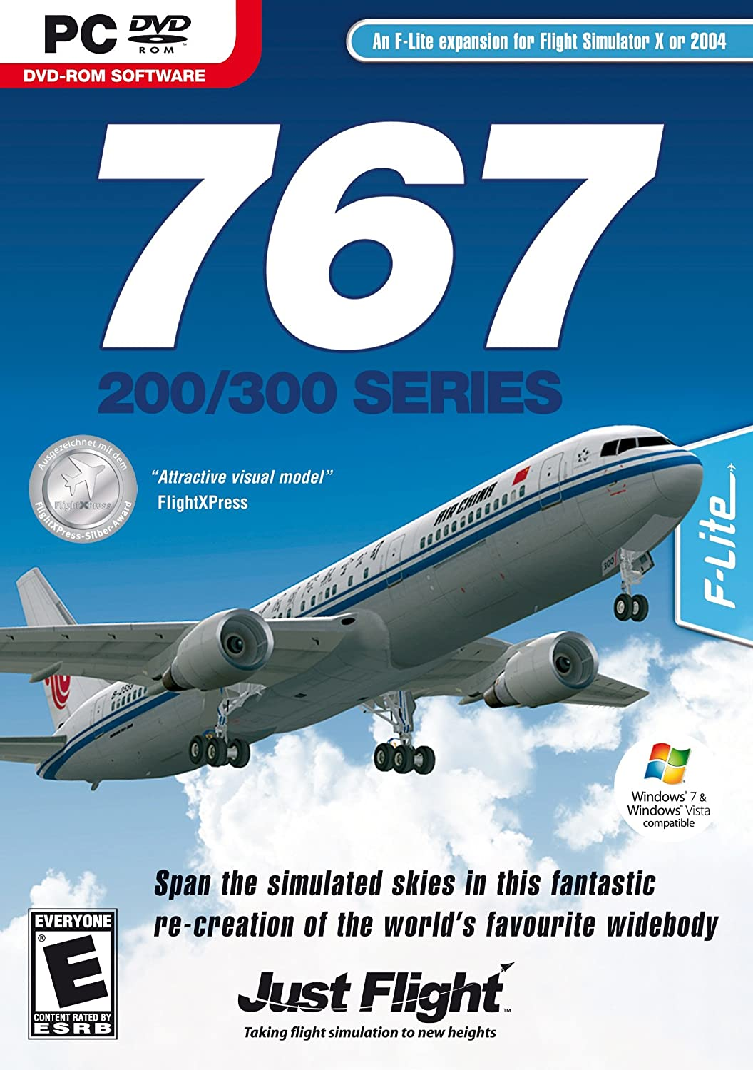 Amazon com: 767-200/300 Series for FSX for PC: Video Games