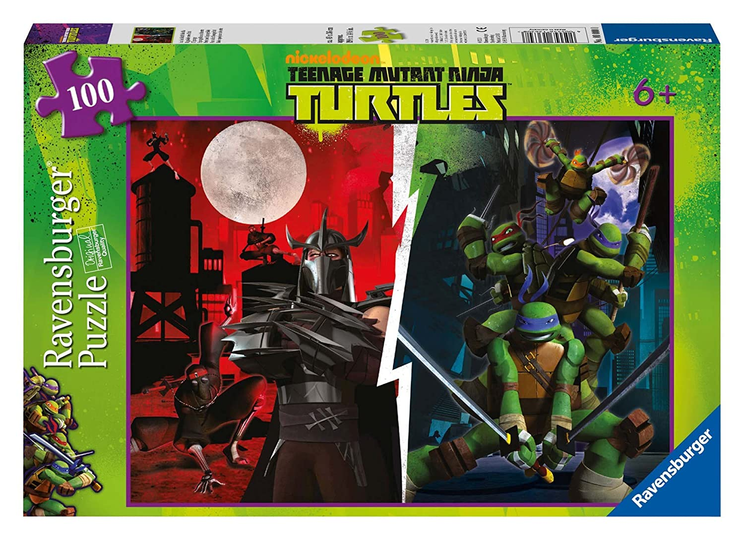 Amazon.com: Ravensburger teenage mutant ninja turtles (100 ...