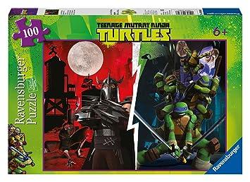 Ravensburger Tortugas Ninja - Puzzle, 100 piezas 10891 6 ...