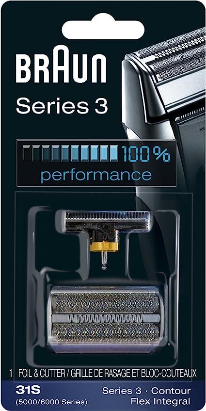 Cabezal de repuesto Braun Serie 3 31S: Amazon.es: Belleza