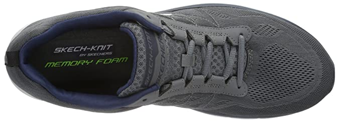 4864602c499e Skechers Men s Synergy - Power Switch Charcoal and Navy Track and Field  Shoes - 11 UK India (46 EU) (12 US)  Buy Online at Low Prices in India -  Amazon.in