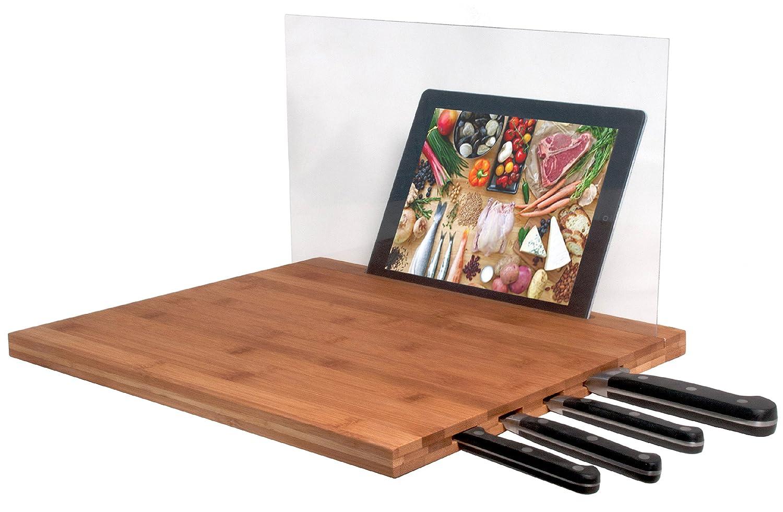 Merveilleux Amazon.com: CTA IPad Air/iPad 3rd Gen/iPad 2 U0026 Knife Storage Bamboo Cutting  Board   Retail Packaging   Brown: Cell Phones U0026 Accessories