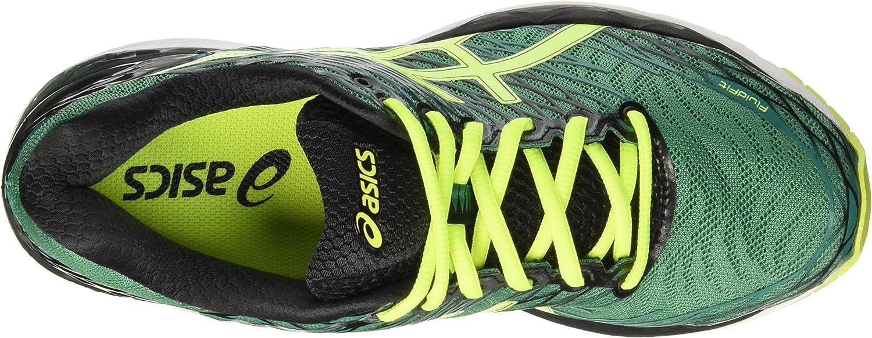 Asics Gel Nimbus 18 - Zapatillas de Running, Unisex, Verde (Pine/Flash Yellow/Black), 39: Amazon.es: Zapatos y complementos
