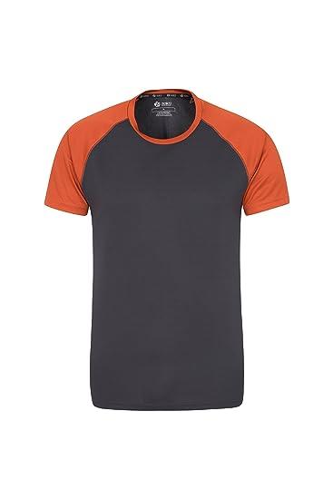 12286b607264f3 Mountain Warehouse Endurance Mens T-Shirt - Breathable All Season ...