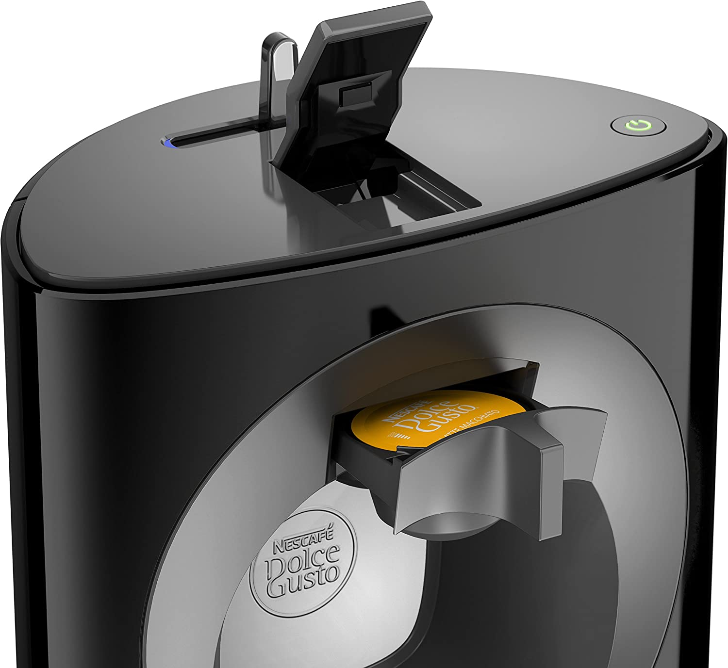 Nescafe Dolce Gusto Oblo Coffee Capsule Machine by Krups - Black