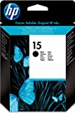 Hewlett Packard C6615NE#301 - Cartucho Inyeccion Tinta Negro 15 Blister+Alarma Acústico/ Electromagnética/ Radiofrecuencia Psc/500/750/750Xi/700/760 Dj/810/840/841/920C/3816 Officejet/5110/6110