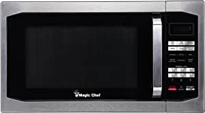 Amazon.com: Magic Chef, Horno microondas de 1100 Vatios, 1.6 ...