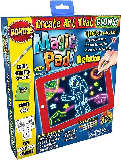 Amazon.com: Ontel Tablet de dibujos con luz led Magic Pad ...