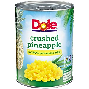 Dole, Pineapple Crushed in Juice, 20 Oz
