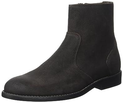High Boots, Bottines Classiques Homme, Marron (Marron Foncé), 44 EUIkks