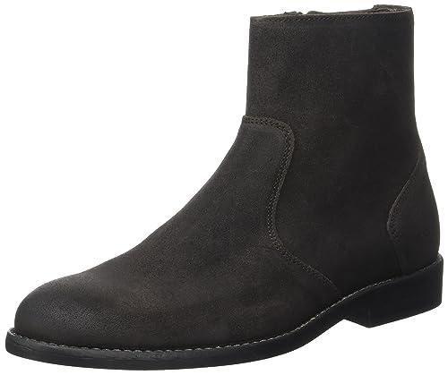 IKKSHigh Boots - Botines Hombre, marrón (Marron (Marron Foncé)), 44: Amazon.es: Zapatos y complementos