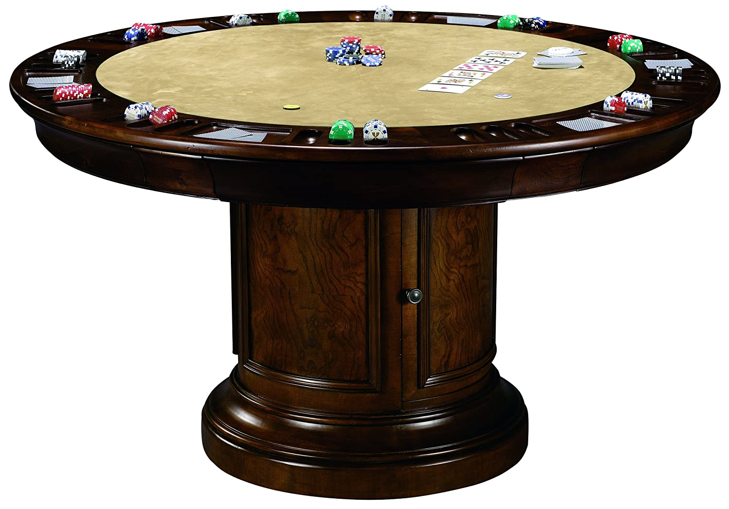 Amazon.com: Howard Miller 699-012 Ithaca Game Table: Kitchen & Dining