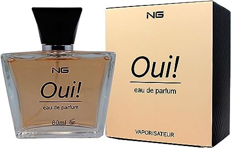 Perfume Francés de Alta Calidad Para Mujer Oui NG 80ml Noche y Día. Regalo de
