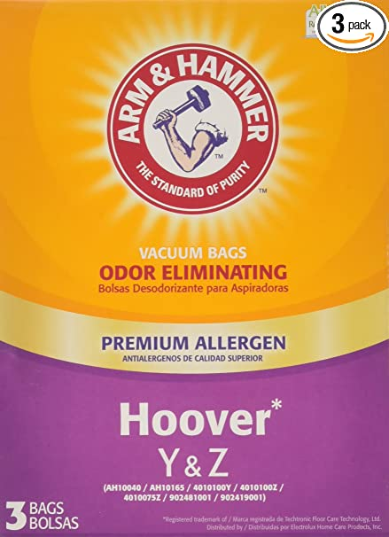 Arm & Hammer Hoover Type Y&Z Premium Allergen Vacuum Bag