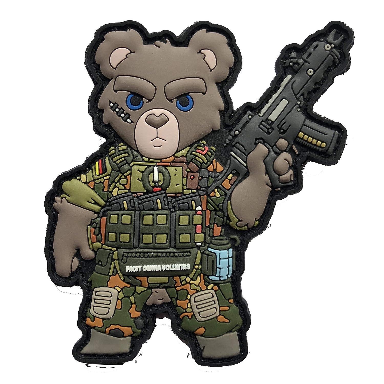 TACOPSGEAR Teddy Teddyb/är Teddy B/är Bundeswehr Soldat Armee Heer Flecktarn Patch