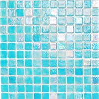 Vetro Mosaico N1205+IN1205 Mosaico De Vidrio, Mezcla Azul