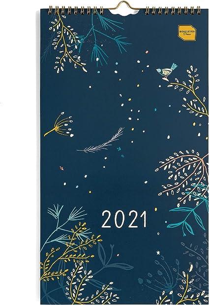 Calendario 2021 Impegni in inglese) Everyday Calendar for Two Boxclever Press. Calendario