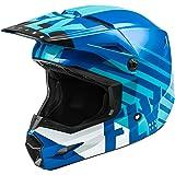 FLY Racing Kinetic Thrive Helmet, Full-Face Helmet for Motocross, Off-Road, ATV, UTV, Bicycle and More (Blue/White, X-Small)