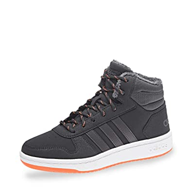 the best attitude 28eaf 84609 adidas Unisex-Kinder Hoops Mid 2.0 Basketballschuhe Grau  CarbonGrefivHireor, 28