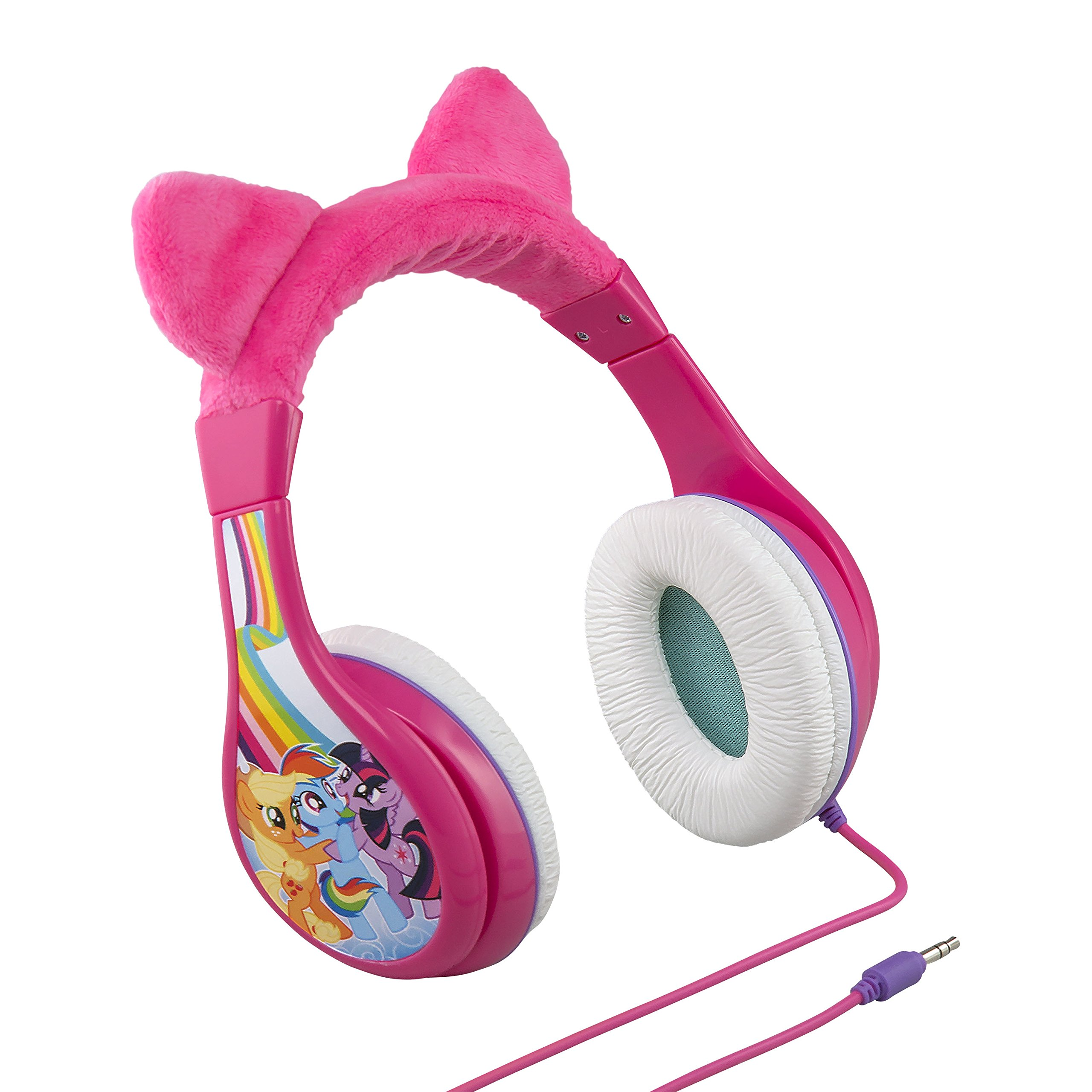 My Little Pony the Movie Youth Headphones for Kids with Volume Limiting Parental Sound Control to Protect Young Ears