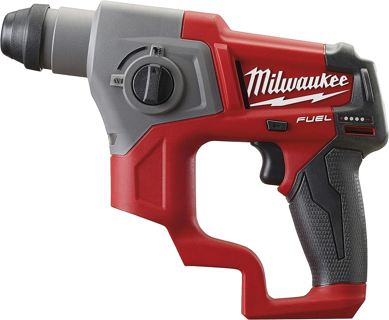 Milwaukee M12CH-0 Taladro Percutor, 12 V