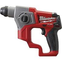 Milwaukee accu-boorhamer 4933441947 M12CH-0 12 volt - XXX, 2 W, 12 V