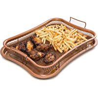 KitchPro Oven Tray, Crisper Tray, Non-Stick Air Fryer Oven with mesh crisping Basket