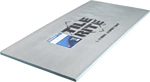 TILE RITE THB817 20 mm Thermaboard Tile Backer Board 1200 x 600 x 20 mm, Pack of 10, Grey, Set of 10 Pieces