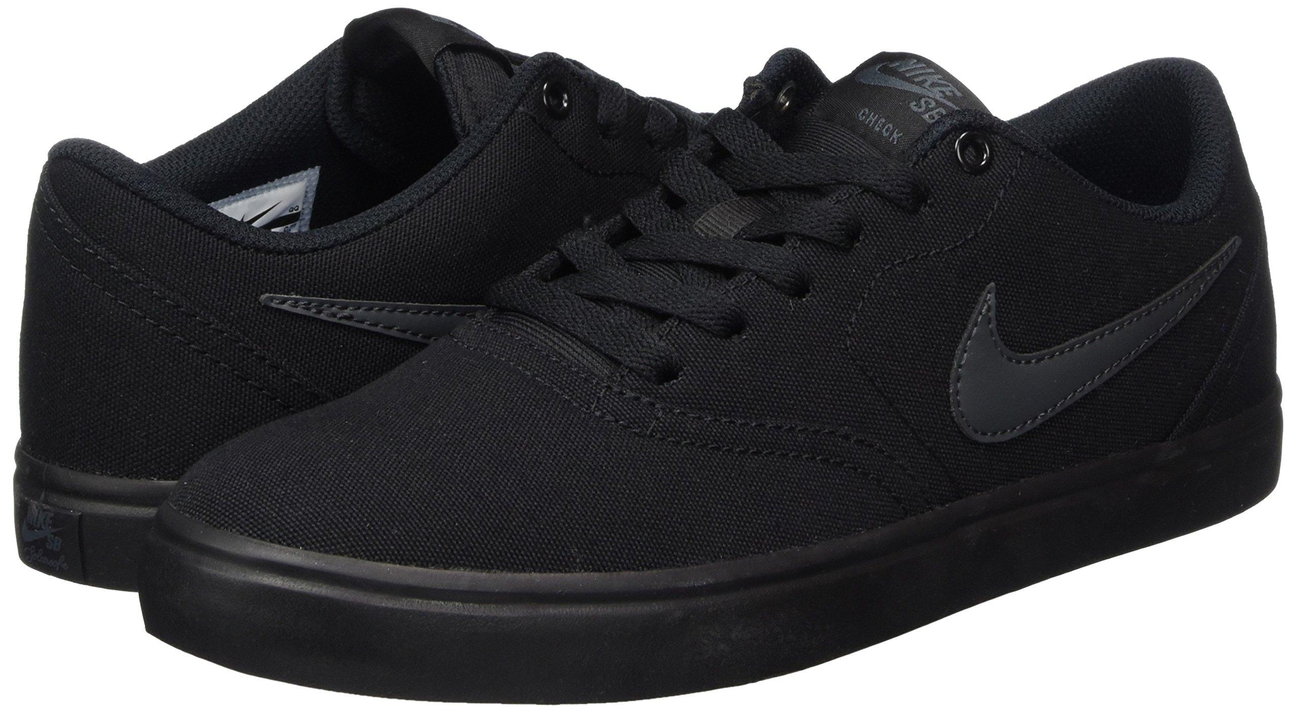 Nike Unisex SB Check Solar CNVS Black/Anthracite Skate Shoe 8.5 Men US / 10 Women US by Nike (Image #5)