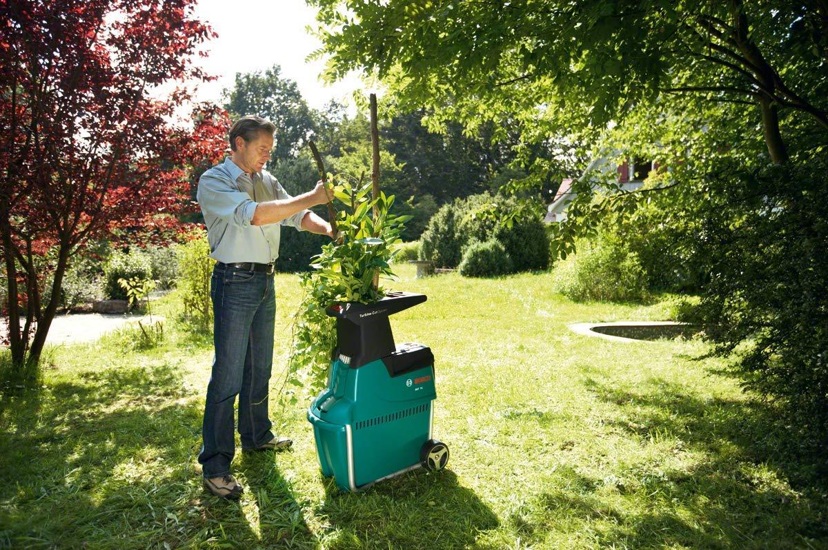 Szeneriebild Gartenhäcksler