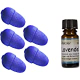 5xLAVENDEL Duftholz-Duftfrucht+10ml Lavendel Duftöl+Körbchen zur Aufbewahrung--Dufthölzer-Duftkugel-Raumduft-Parfümöl-Angebot-Sparangebot-Versand portofrei & versichert!