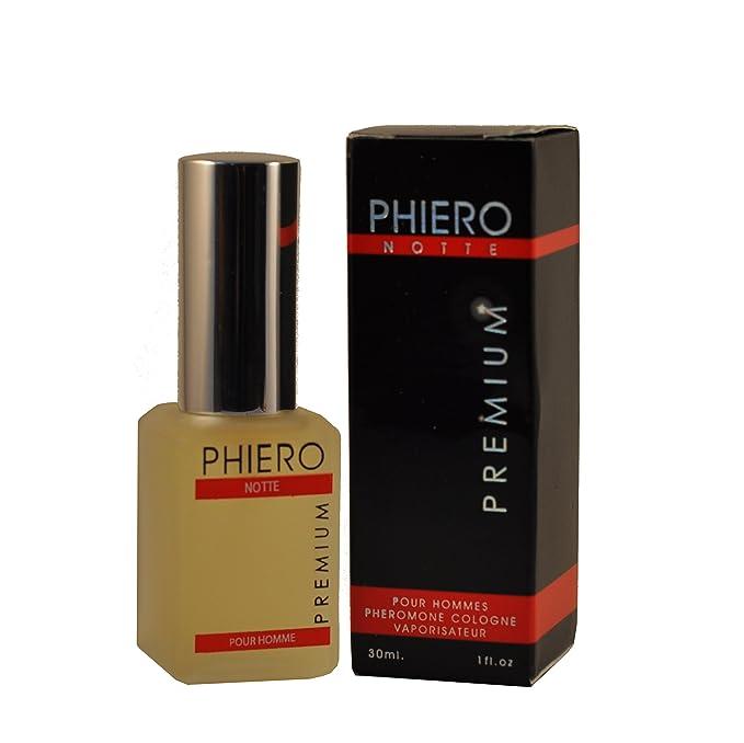 PHiERO notte PREMIUM - agua de colonia con feromonas para hombres 30ml espray: Amazon.es: Salud y cuidado personal