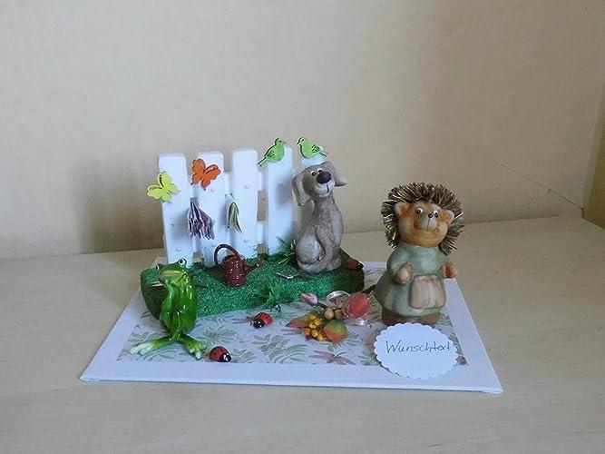 Gartengestaltung Geldgeschenk Geburtstag Garten Amazon De Handmade